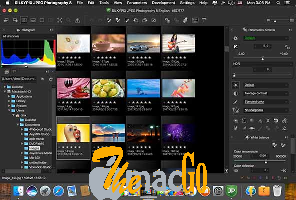 SILKYPIX JPEG Photography 10_2_8_1 for mac free download themacgo
