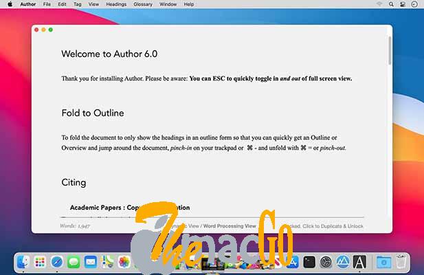 Author 6_2_1 mac dmg full version themacgo