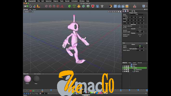 MW3D-Solutions Cheetah3D 7_5 for mac free download themacgo