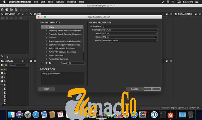 Substance Designer 2021_1_2 mac dmg full version themacgo