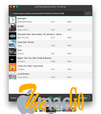 AudFree Spotify Music Converter 1_9_0 for mac free download themacgo