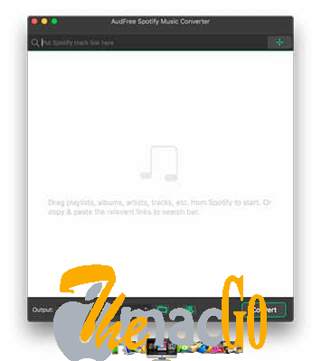 AudFree Spotify Music Converter 1_9_0 mac dmg full version themacgo