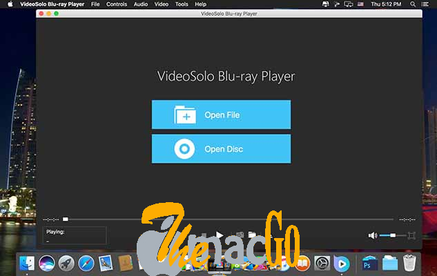 VideoSolo Blu-ray Player 1_1_16 for mac free download themacgo