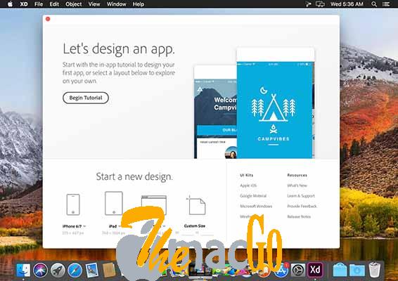 Adobe XD CC 2019 18_0 mac dmg full version themacgo