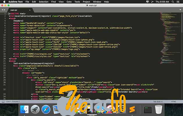 Sublime Text 4_0 Build 4105 for mac free download themacgo