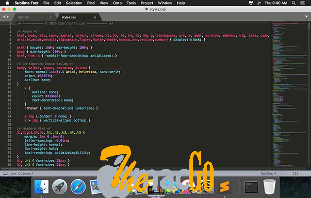 Sublime Text 4_0 Build 4105 mac dmg full version themacgo