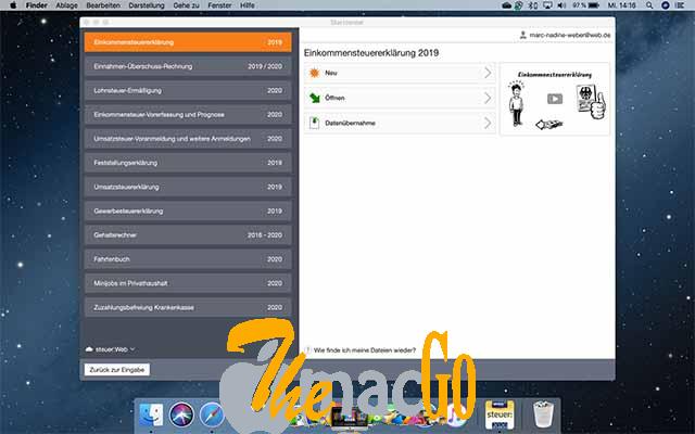 WISO steuer 2021 v11_07 mac dmg full version themacgo