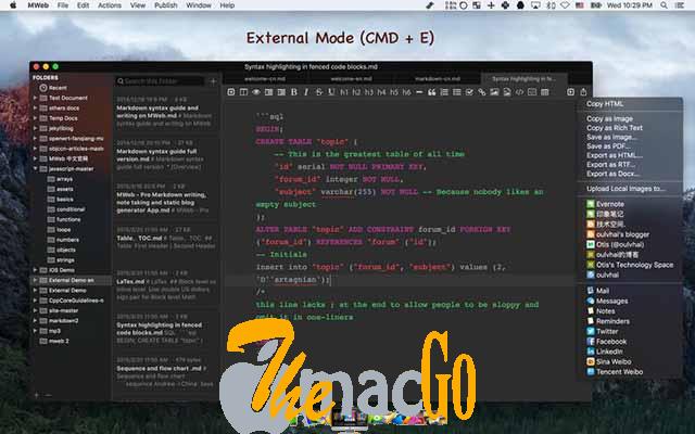 MWeb 4_1_3 for mac free download themacgo