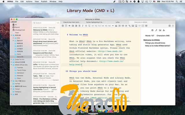MWeb 4_1_3 mac dmg full version themacgo