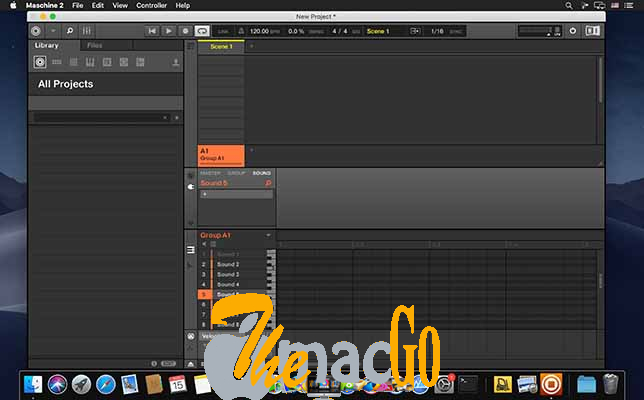 Native Instruments Maschine 2 v2_14 for mac free download themacgo