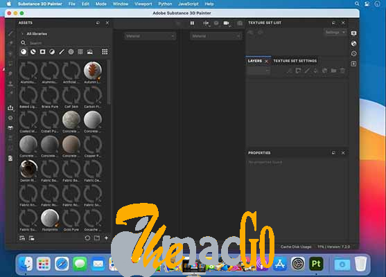 Adobe Substance 3D Painter v7_2_3 for mac free download themacgo