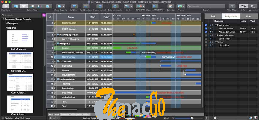 ConceptDraw PROJECT 11_0_3 for mac free download themacgo