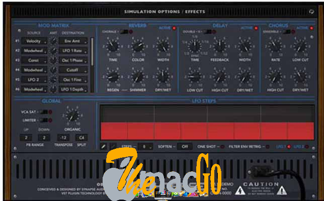 Synapse Audio Obsession v1_1_1 for mac free download themacgo